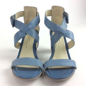 ECCO Women/'s Shape 65 Block Ankle Strap Heeled Sandal